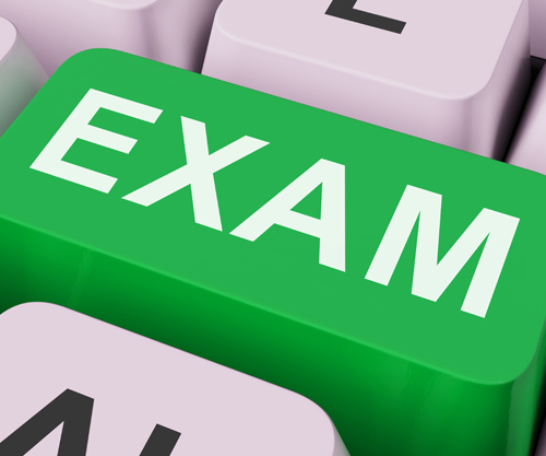 Exam Key Shows Examination Exams Or Web Test